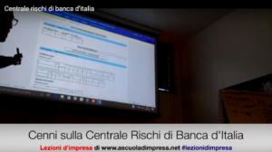 centrale rischi di banca d'italia
