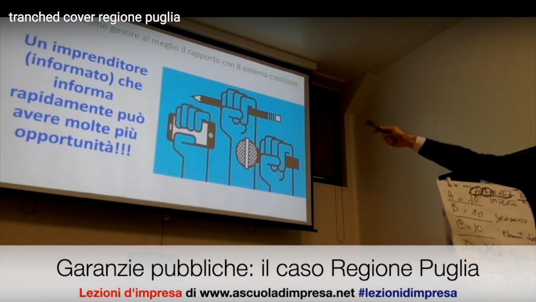 Finanziamenti garantiti dalla Regione Puglia