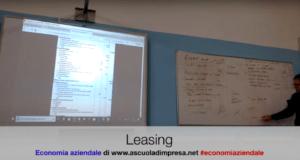 Il leasing, contratto di leasing, tipi di leasing, operativo finanziario
